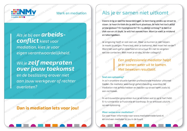 werk en mediation